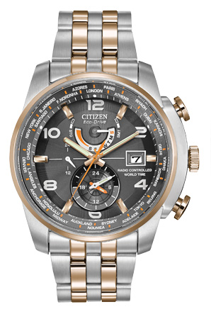 Citizen Citizen Eco-Drive  World Time A-T AT9016-56H Atomic Timekeeping