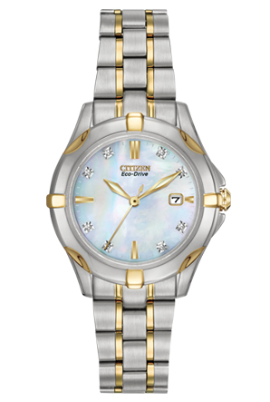 Citizen Citizen Eco-Drive  Silhouette Diamond EW1934-59D Silhouette