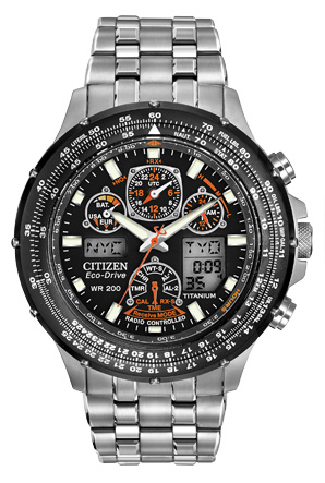 Citizen Citizen Eco-Drive  Skyhawk A-T JY0010-50E Atomic Timekeeping