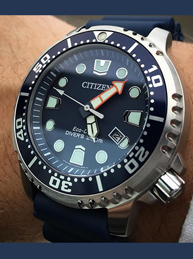 Citizen Citizen Eco Drive Promaster Diver Bn0151 09l Dive